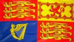 "ROYAL STANDARD (UK) - 18"" X 12"" FLAG"